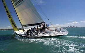 Incentive travel delegates sailing in Auckland with dmc for australia and new zealand