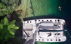 Incentive travel aboard a luxury yacht in rotorua with uniq dmc new zealand