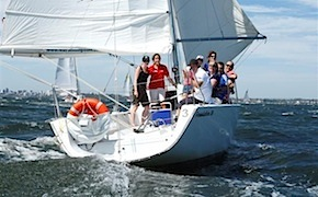 Sailing regatta organised for incentive travel participants in Perth by dmc australia