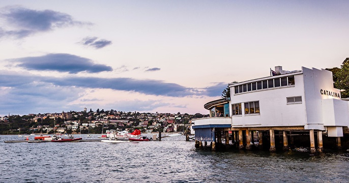 Luxury travel at its best in Sydney. Fly above Sydney to enjoy iconic sites and then enjoy lunch in Rose Bay at Catalina with UNIQ dmc Australia. Great spot for incentive travel delegates