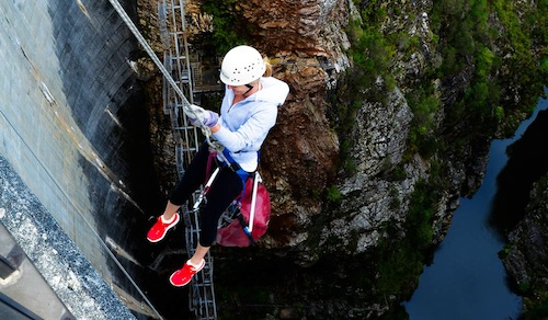 Are your incentive travel delegates looking for activities in Australia to get their heart racing? Abseiling at the Gordon Dam not far from Hobart in Tasmania has been included in the Top 10 Adrenaline activities in the world.
