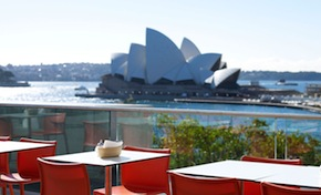 DMC Sydney presents Best dining spots with uninterrupted views of the Sydney Opera House and the Harbour for incentive travel in Australia - MCA Cafe