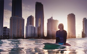 On the Gold Coast, Australia In Australia incentive travel delegates learn to surf with UNIQ Travel  Australia, destination management company Brisbane