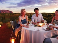 australia-incentive-travel-luxury-uluru-dining