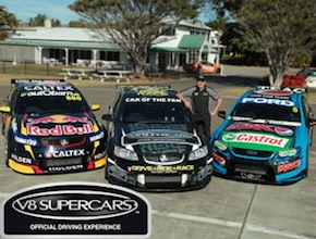 In Australia, on the Gold Coast Incentive Group enjoy V8 performance driving with dmc Brisbane, UNIQ Travel & Incentives Australia