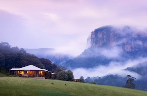 Six star experience for incentive groups not far from Sydney in Wolgan Valley